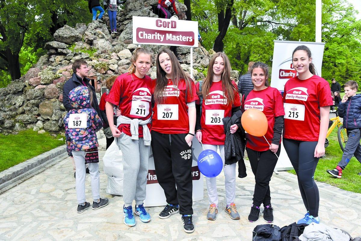 Cord 30th Belgrade Marathon Marathon Runners Warm Up