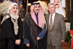 H.E. Mr. YOUSEF AHMAD ABDULSAMADKYLE and H.E. Mr. RANDOLPH SCOTT, US Ambassador
