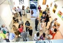 Ambassador Kati Csaba Opens Contemporary Art Exhibition
