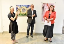 Ambassador Kati Csaba Opens Contemporary Art Exhibition