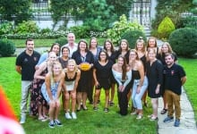 Ambassador Kati Csaba Welcomes Youth Women's Water Polo Team