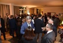 Ambassador Keefe Hosts British Entrepreneurs Active in Serbia