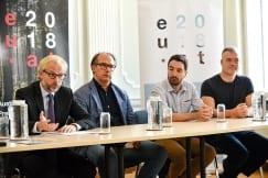Ambassador Lutterotti promotes arts fair Vienna Contemporary