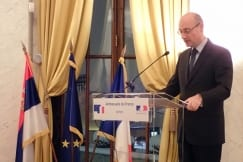 Ambassador Mondoloni Hosts Members of The French Community
