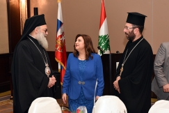 Ambassador of Lebanon Hosts Dinner Event