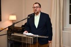Ambassador Schieb announces the exhibition of German contemporary art