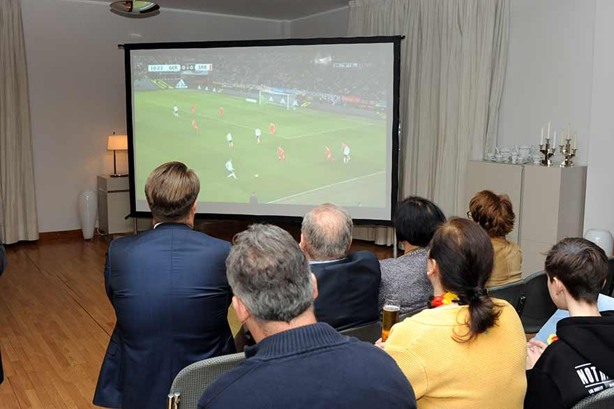 Ambassador-Schieb-hosted-Germany-Serbia-football-match-viewing-7