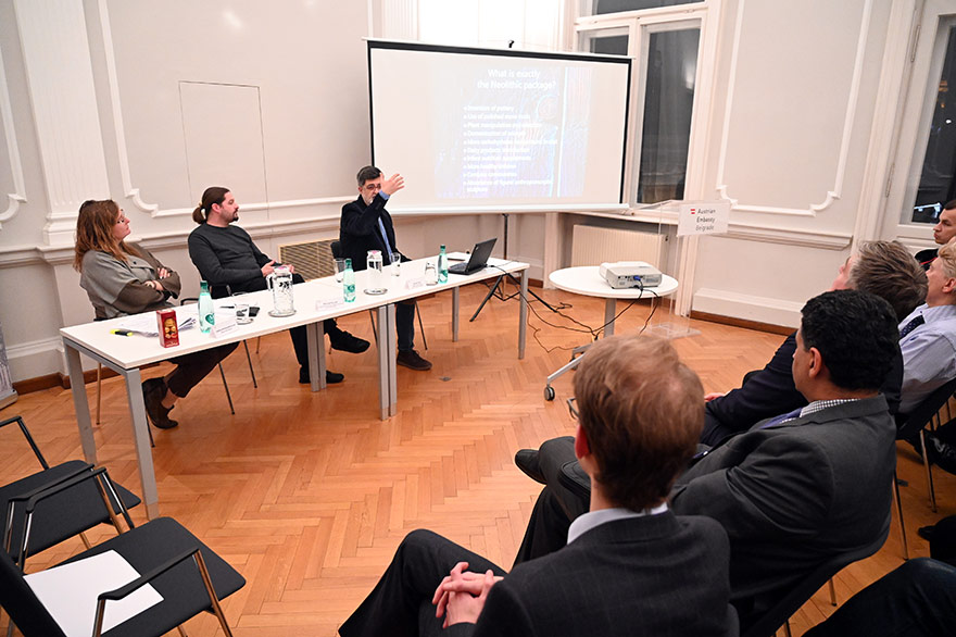 Austrian-Embassy-Hosts-'Archeology-Of-The-Modern-Era'-Event-1