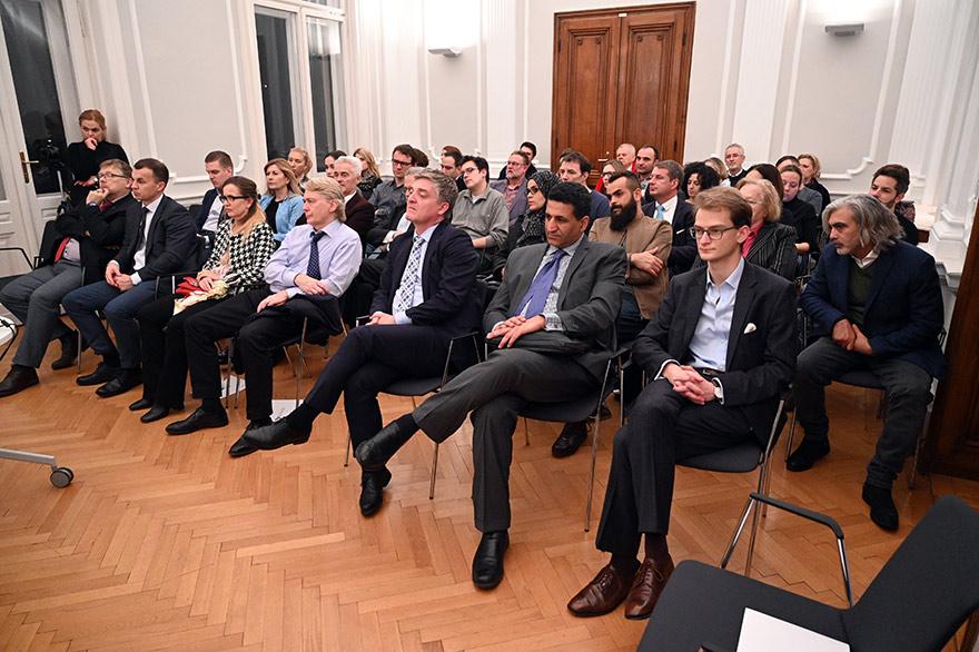 Austrian-Embassy-Hosts-'Archeology-Of-The-Modern-Era'-Event-7