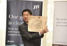 Awarded Sakura Scholarships