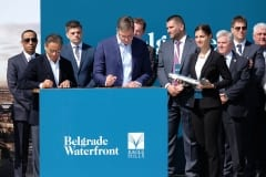 Belgrade Tower Cornerstone Laid