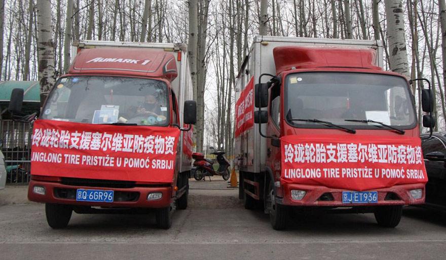 Chinese-Shandong-Lingdong-donates-masks-3