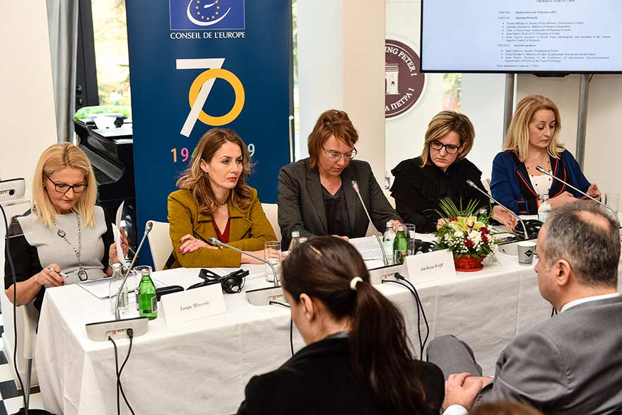 Conference For a Cohesive Europe Gender Equality and Women's Rights (9)
