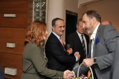 Croatian Embassy Hosts a Christmas and New Year reception