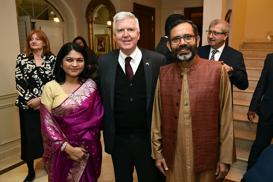 Diwali Celebration At The Indian Embassy
