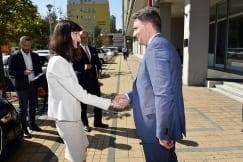 EU Commissioner Mariya Gabriel Visits ITE Office