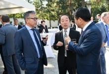 Farewell Reception For Ambassador Of Japan Juichi Takahara
