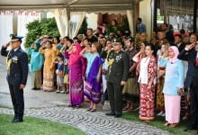 Flag Ceremony At The Indonesian Embassy