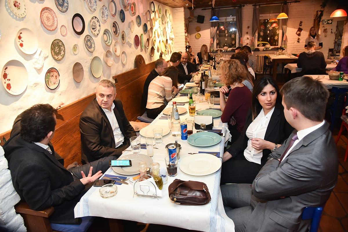 Hellenic Business Association Christmas Celebration