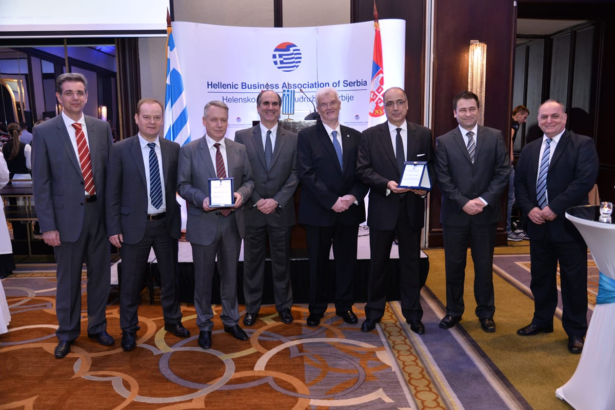 Hellenic Business Association of Serbia's Celebration