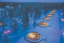 THERMAL GLASS IGLOOS, Finland