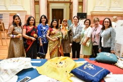 Indian Embassy Hosts Art Exhibition