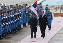 Japanese PM Visits Belgrade