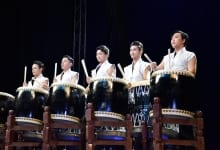 Korean Drummer-Acrobat Performance