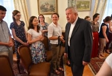 Meeting Of Krakow Students And Catholic Church Representatives In Serbia