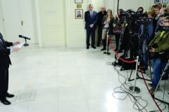 Minister Dacic Hosts New Year Reception