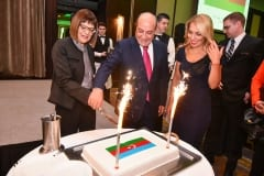 National Day of Azerbaijan Celebrated