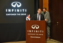 New Infiniti Q30 Promoted At The Embassy Of Japan
