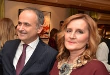 New Year's Reception At Croatian Ambassadorial Residence