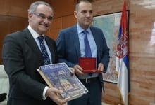 Official visit of the Grand Hospitaller of the Order of Malta