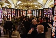 Polish Ambassador Opens Exhibition of Stained Glass