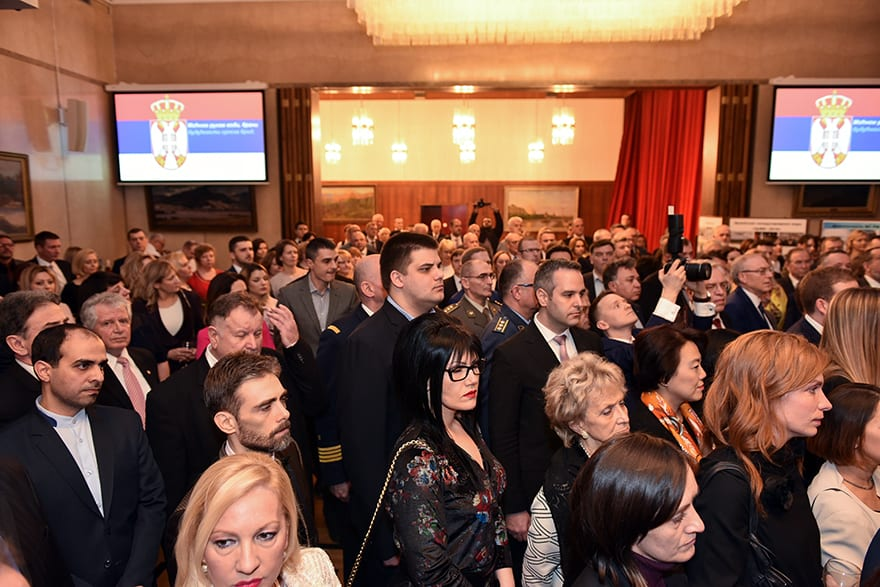 Russian Embassy Celebrates Defender of the Fatherland Day