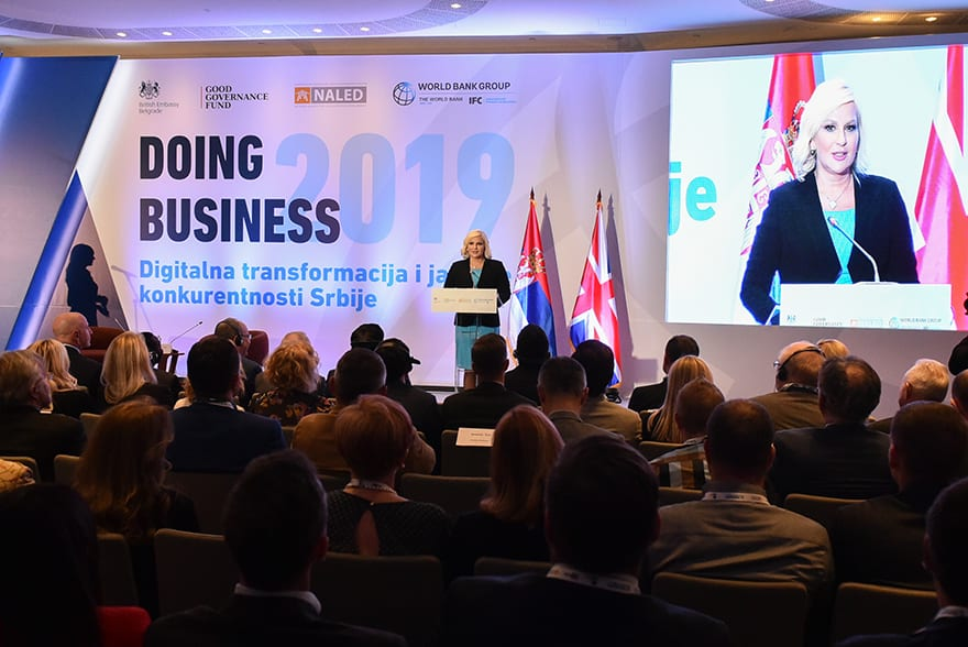 Serbia 48th on WB's Doing Business List