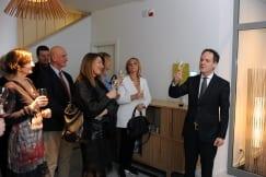 Swiss Cheese Fondue Soiree at the Ambassador's Residence