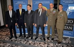 Takeover Ceremony Between Greece and Norwegian Embassy as NATO Contact Point in Serbia