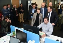 The Prime Minister Visits Delhaize Serbia
