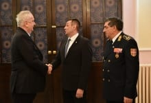Traditional Serbian Armed Forces Reception