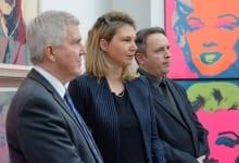 U.S. Ambassador Opens American Pop Art Exhibition