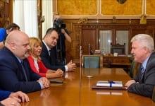US Ambassador Kyle Scott Visit To Zrenjanin