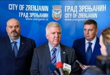US Ambassador Kyle Scott Visits Zrenjanin