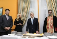 Vasilopita Cutting With The Greek Embassy And The HBA