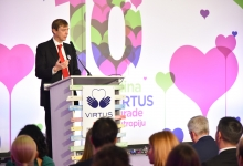 Virtus Award for Philanthropy Presented
