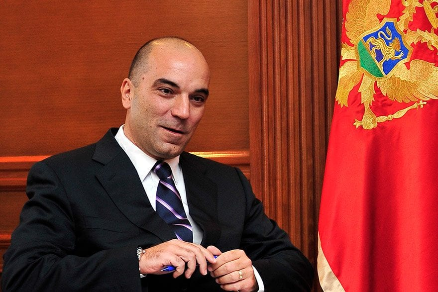 Vladimir Kavarić, Minister of Economy of Montenegro