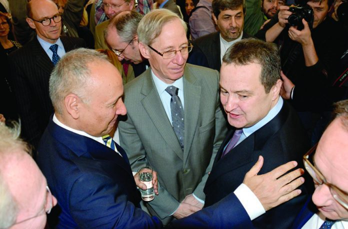Minister Ivica Dacic Hosts New Year Reception