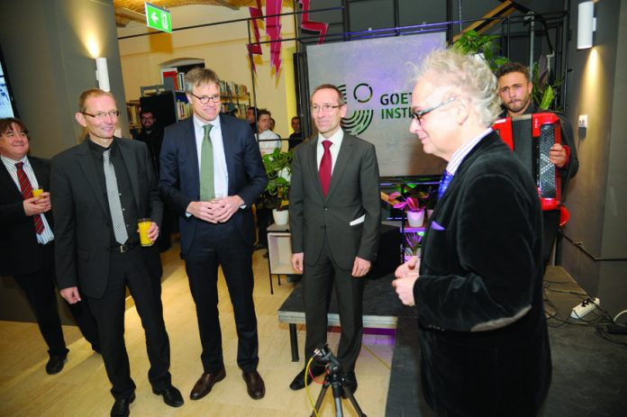 Opening Ceremony for Renovated Goethe-Institut