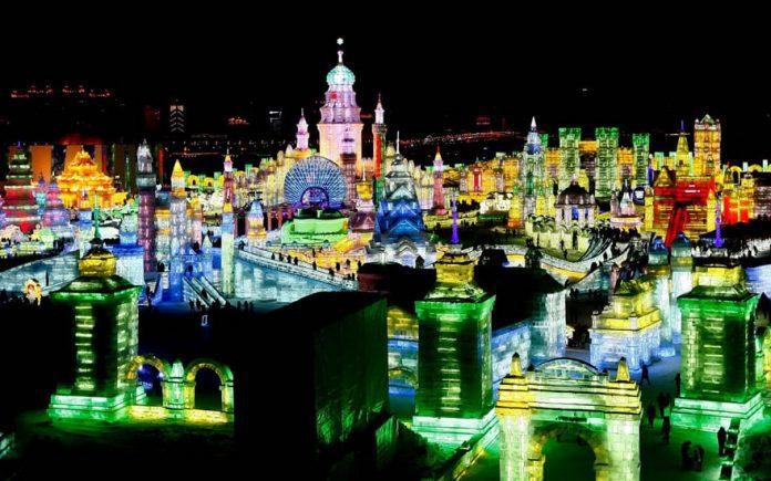 Harbin Ice Festival 2016